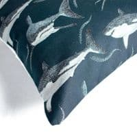 Great White Shark | Cushion Cover | Kelsey Emblow